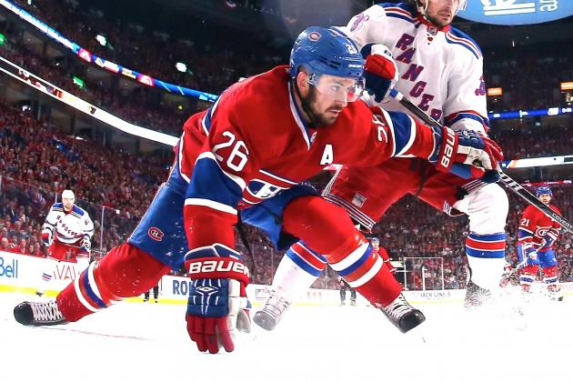 Habs Searching for Answers After Blowout Loss to Rangers in Game 1 of ECF