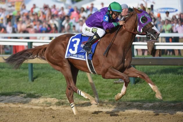 California Chrome's Unlikely Triple Crown Journey Continues with Preakness Win