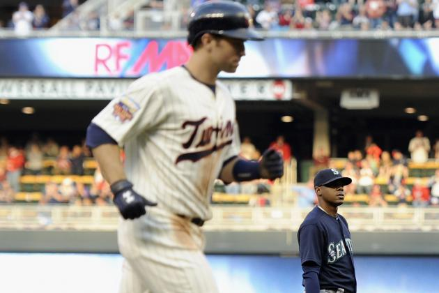 Dozier's 3-Run Homer Helps Twins Top Mariners 4-3