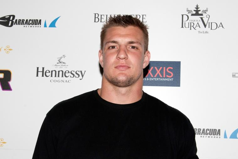 Rob Gronkowski's Mom Gave Him a Birthday Spanking