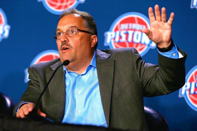 Stan Van Gundy Faces Big To-Do List as Detroit Pistons' New Chief