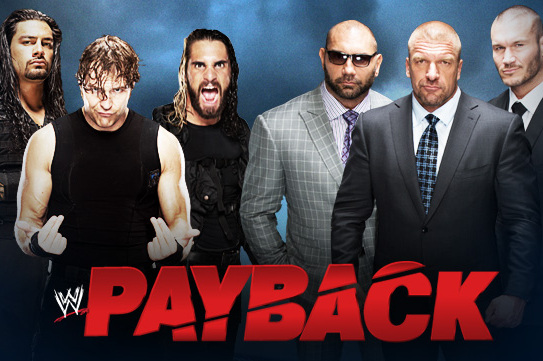 WWE Payback 2014: Evolution vs. The Shield Should Have an Extra Stipulation