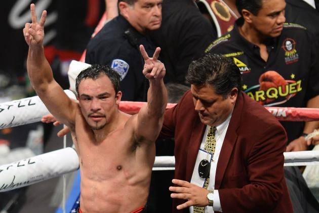 Juan Manuel Marquez vs. Mike Alvarado Results: Twitter Reaction and Recap