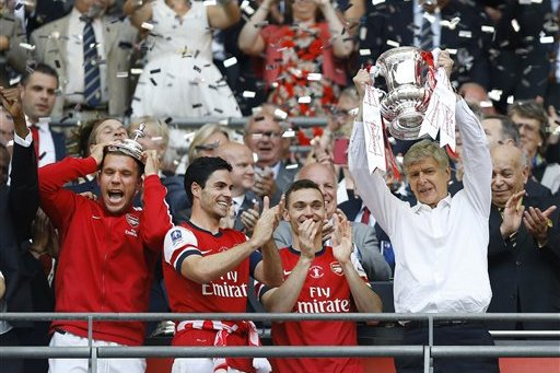 Arsenal's FA Cup Win Behind the Scenes, with Aaron Ramsey, Jack Wilshere, More