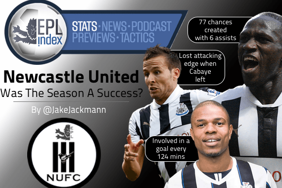 Newcastle United - Was The Season A Success?
