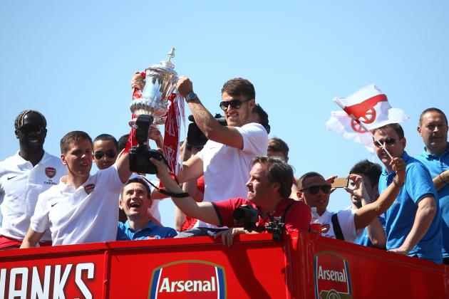Arsenal Parade 2014: Twitter Reaction, Photos, Videos and More