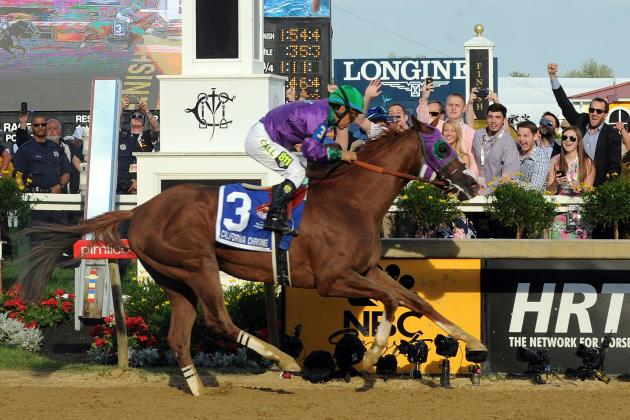 Preakness Results 2014: Video Replay, Times Chart, Belmont Predictions