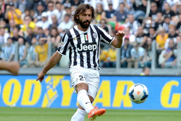 Andrea Pirlo Scores Brilliant Free-Kick Goal in Juventus Season Finale