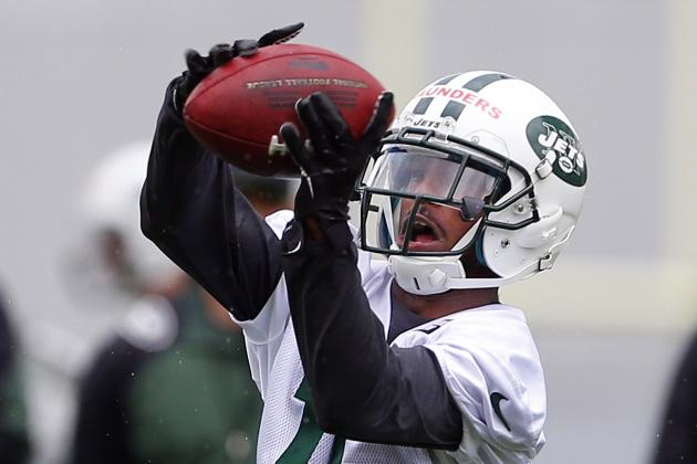 Jets' Young WRs Begin Stating Their Case