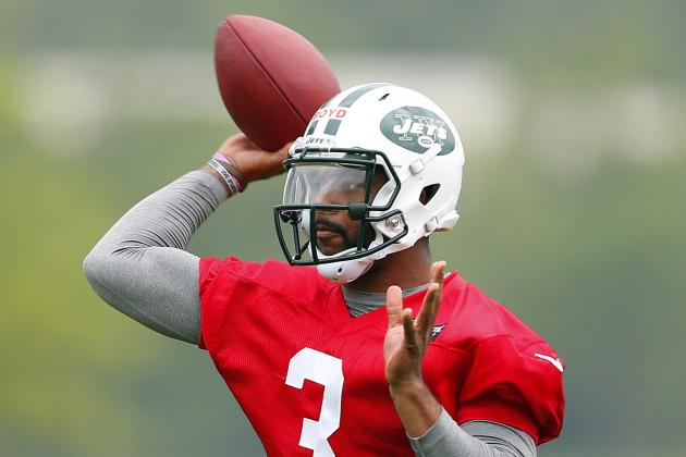 Jets May Use Tajh Boyd as RB ... or in Wildcat