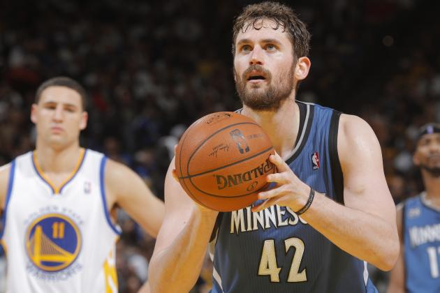 Report: Chicago Bulls, Golden State Warriors Appeal to Kevin Love in Trade