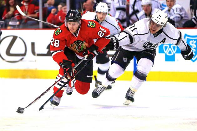 Los Angeles Kings vs. Chicago Blackhawks Game 1: Live Score and Highlights