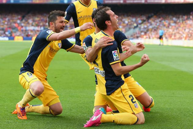 La Liga Table 2014: Final Standings, Roll of Honour and European Qualifiers