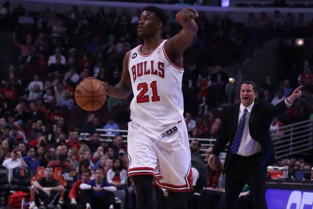 Report: Jimmy Butler Was Unhappy with Tom Thibodeau Before Season Ended