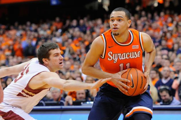 Tyler Ennis Says He's 'Definitely' Best Point Guard in 2014 NBA Draft Class