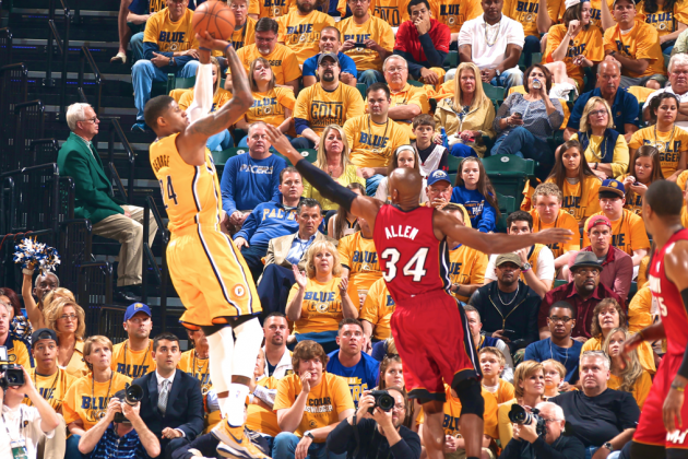 Heat vs. Pacers: Game 1 Score and Twitter Reaction from 2014 NBA Playoffs