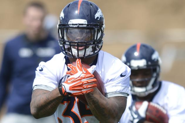Kapri Bibbs Trying to Stick with Denver Broncos as Undrafted Rookie RB