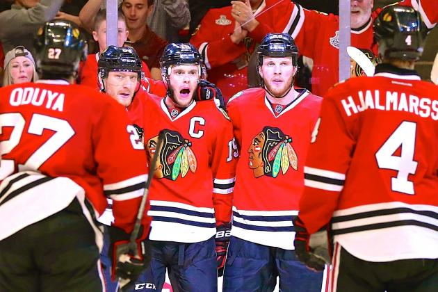 Hawks Roll in Game 1 as 'D' Silences L.A. Stars Without Featuring Duncan Keith