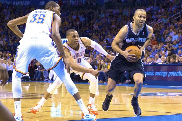 Spurs-Thunder Showdown in NBA's West Finals to Test Power of Teamwork