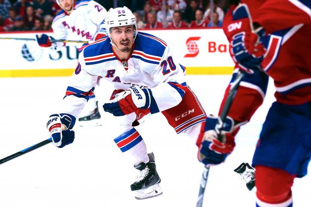 Chris Kreider Quietly a Big Part of the New York Rangers' Postseason Surge