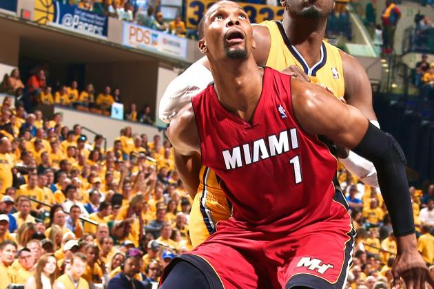 Miami Heat Need a Chris Bosh Gut-Check to Beat Indiana Pacers