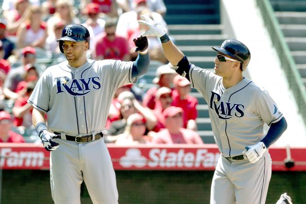 Kiermaier Hits First Career Homer in Rays' Loss