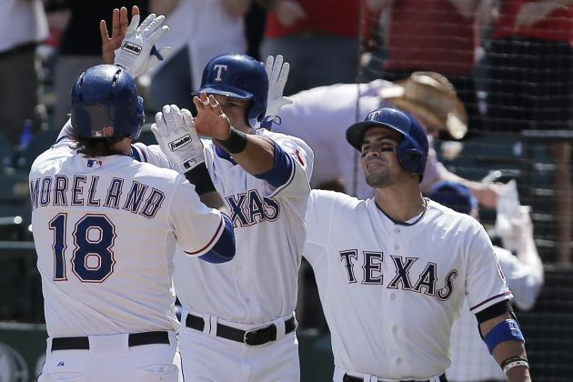 Rangers End Losing Streak with 6-2 Win over Blue Jays