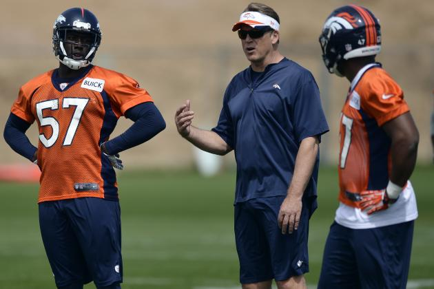 Del Rio Delighted in Denver's Defensive Additions