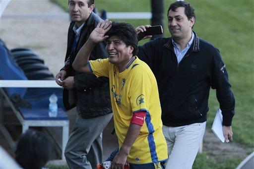 Bolivian President Evo Morales Signed by Sport Boys Football Club