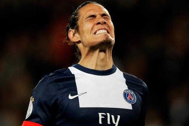 Manchester United Transfer News: Edinson Cavani Setback, Bacary Sagna and More