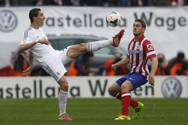 Real Madrid vs. Atletico Madrid: Live Stream, Prediction for Madrid Derby 2014