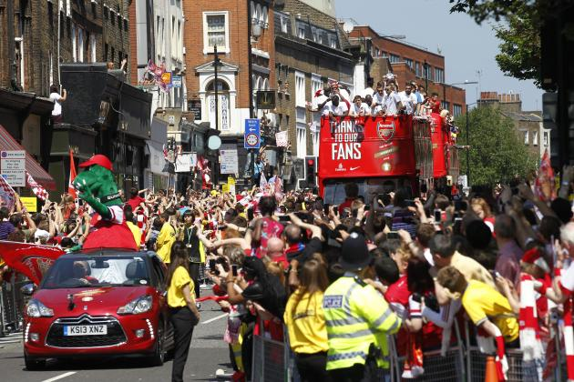 FA Cup Final Tweets Show Just How Global Arsenal vs. Hull Showdown Was