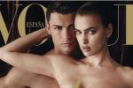 Ronaldo Bares All on Vogue Cover