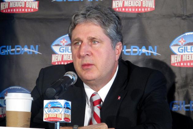 Mike Leach Says He Might Ask the Janitor for Football Advice