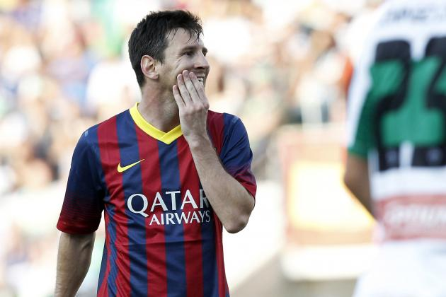La Liga Team of the Year 2014 Shuns Lionel Messi in Total Barcelona Snub
