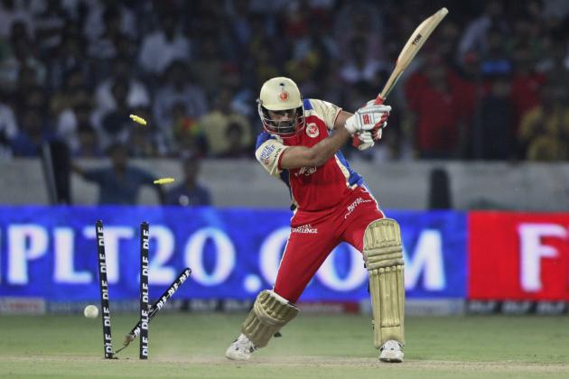 Hyderabad vs. Bangalore IPL 2014: Date, Time, Live Stream, TV Info and Preview