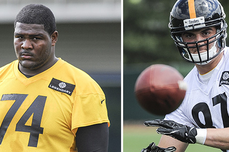 Steelers Sign Two Draft Picks