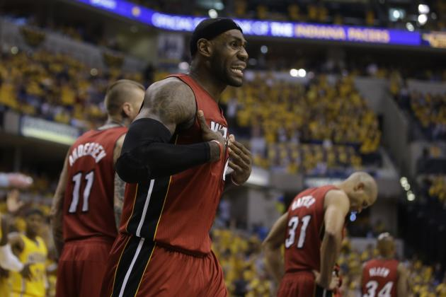 LeBron James' Defense Is Big Key To Miami Heat Success