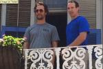 Brees Hangs with McConaughey & Brad Pitt