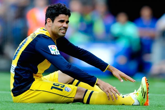 Diego Costa Injury: Updates on Atletico Madrid Star's Thigh and Return