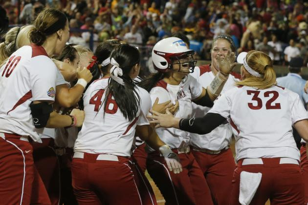 NCAA Softball Championships 2014: Updated Bracket, Schedule and Matchups