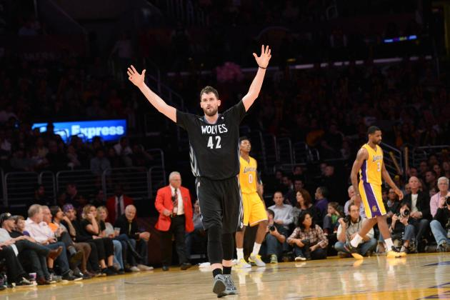 Los Angeles Lakers' Chances of Kevin Love Trade Looking Worse Than Ever
