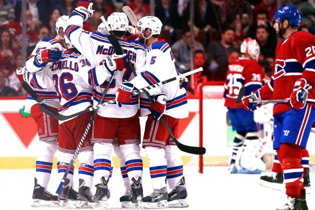 New York Rangers vs. Montreal Canadiens Game 2: Live Score and Highlights