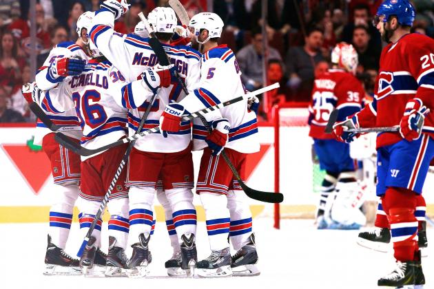 Rangers vs. Canadiens: Game 2 Score and Twitter Reaction from 2014 NHL Playoffs