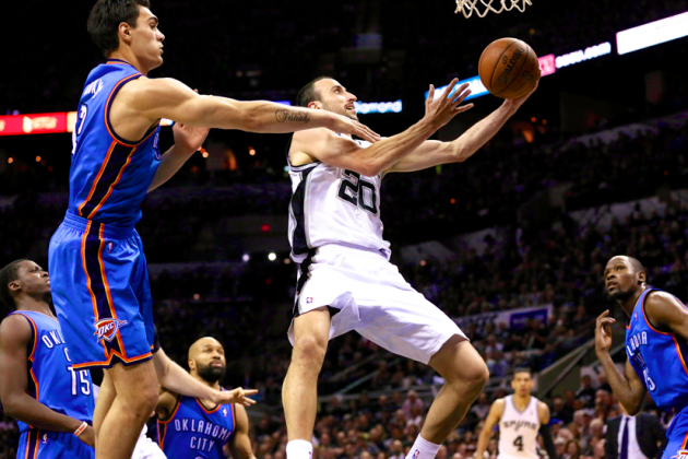 Thunder vs. Spurs Game 1: Live Score, Highlights and Reaction