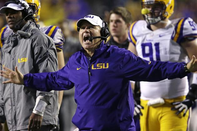 LSU Football: Les Miles' 5 Biggest Challenges for the Tigers in 2014
