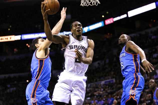 Kawhi Leonard Blindsides OKC Thunder with Monster Game 1 for Spurs