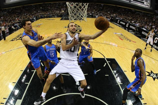 NBA Playoffs 2014: Odds and Predictions for Thunder vs. Spurs Game 2