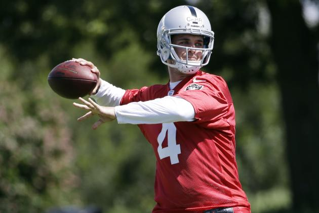 Oakland Raiders Rookie QB Derek Carr Finds Himself in Ideal Situation