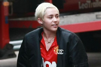 Miley Cyrus Wears Manchester United Kit, Club Happy, Fans Embarrassed